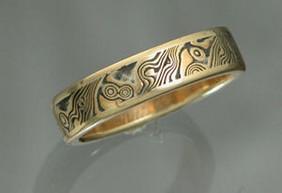 22k Lancelot Wedding Ring