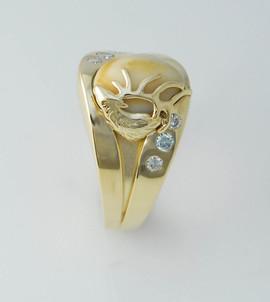 Hunstsman Elks Tooth Ring