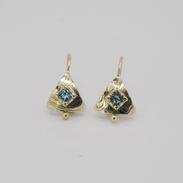 Maris Blue Diamond Earrings
