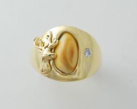 Huntsman Elks Tooth Ring