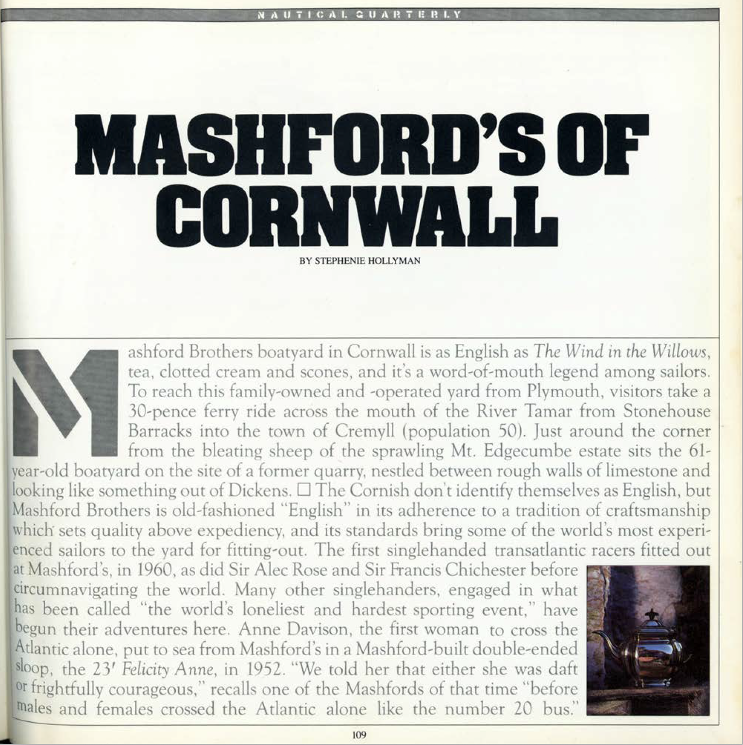 Mashfords of Cornwall