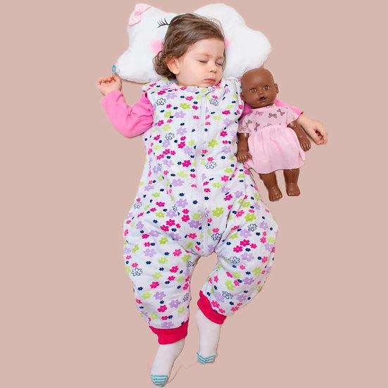Saco Dormir Com Pezinho 1 - 2 anos Meia Estação