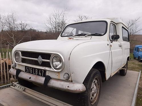 Renault R4F4 - 1970