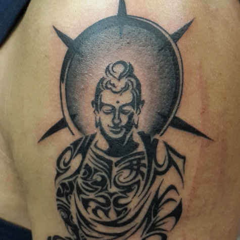 Lord Bhuddha tattoo