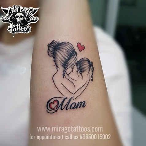 Tattoo For Mom made in Dwarka, Delhi, In