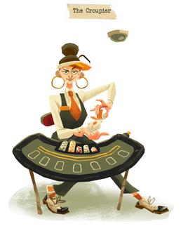The Croupier