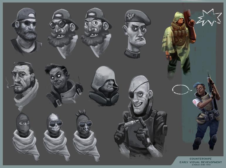 Character exploration sheet