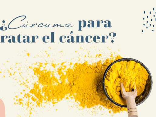 ¿Puedes tomar cúrcuma para tratar el cáncer?