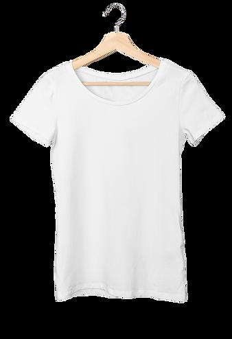 Women's T-Shirt on a Hanger T-Shirt Mock