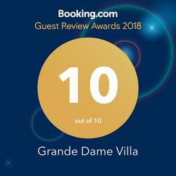 Winner: Booking.com Guest Review Awa