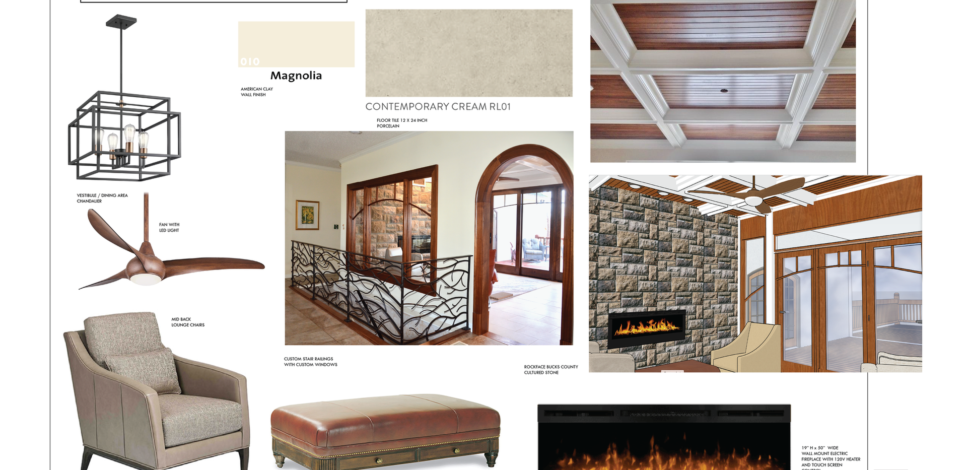 Residential materials