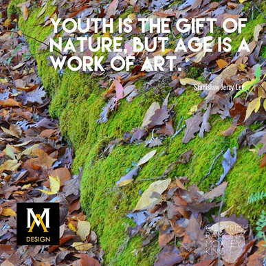 moss photo and quote