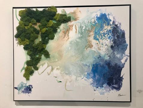 custom moss painting