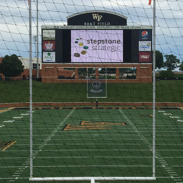 Tribute Board at Wake Forest University