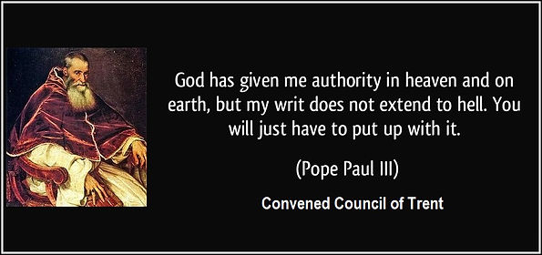 Pope Paul III - Convened the Council of