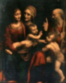 Mary Jesus Elizabeth John B and Zacharia