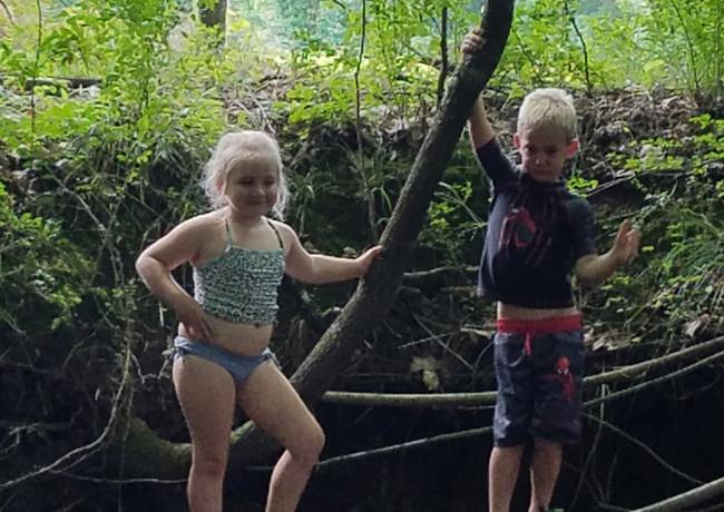 Alice and Michael creek play.jpg