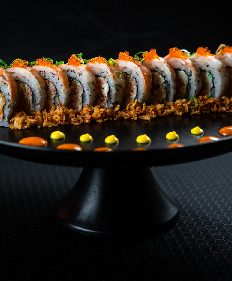 Ippon Roll by Lon Sushi Side View