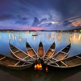 Life on OLoan lagoon