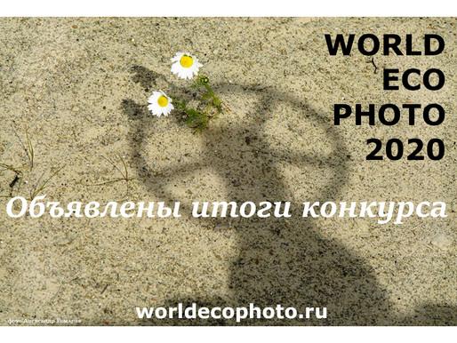 Подведены итоги фотоконкурса и стартовал фестиваль WORLD ECO PHOTO - 2020