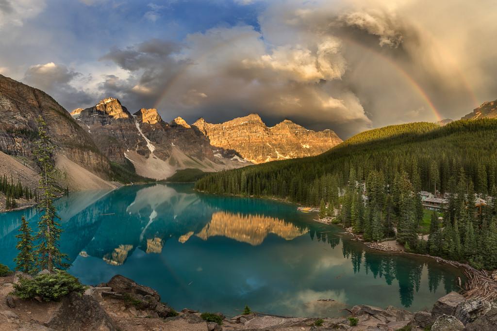 Mount lake