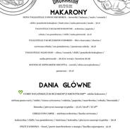 Makarony i dania główne