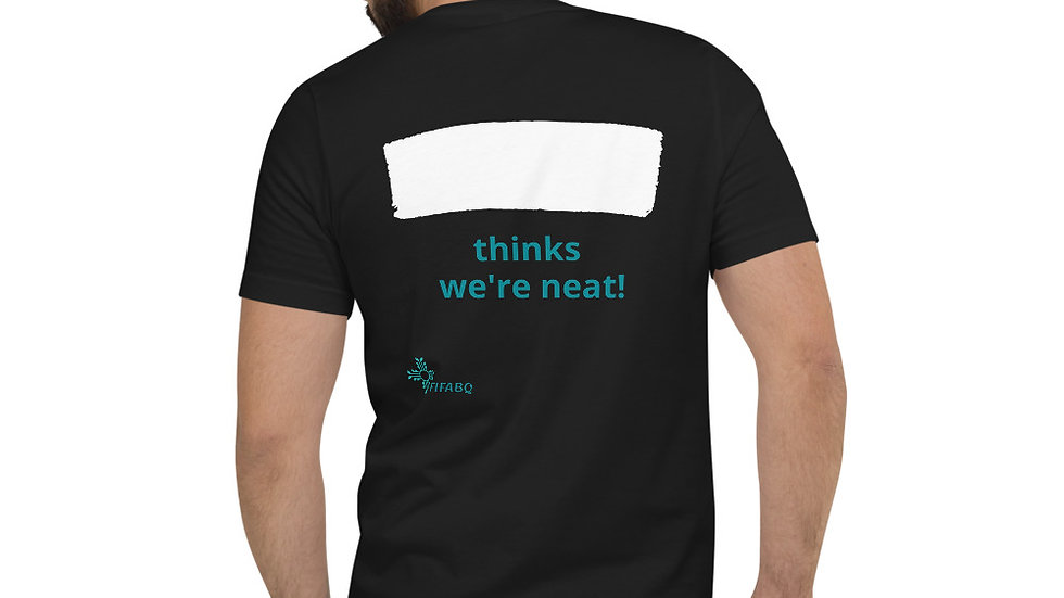 Fill in the Blank - NEAT!  V-Neck T-Shirt Unisex