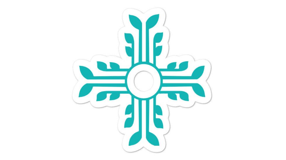Blue Zia - Logo Sticker