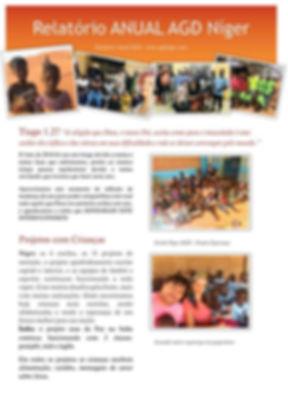 Nosso relatório anual de atividades no N