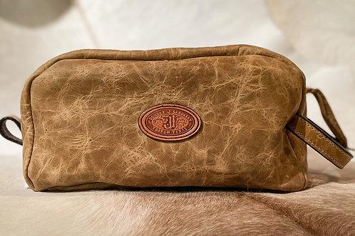 Light Brown Toiletry Bag