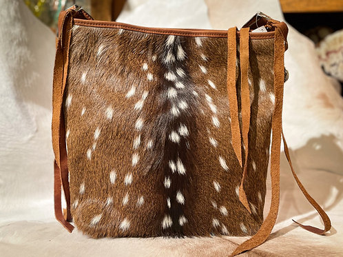Large On Hair Bag with Conchos