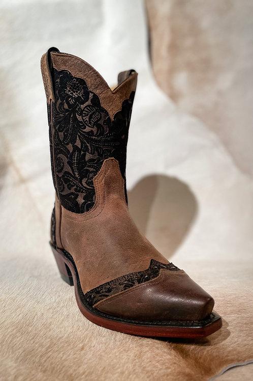 Boulet Women's Brown Snip Boot - 4631
