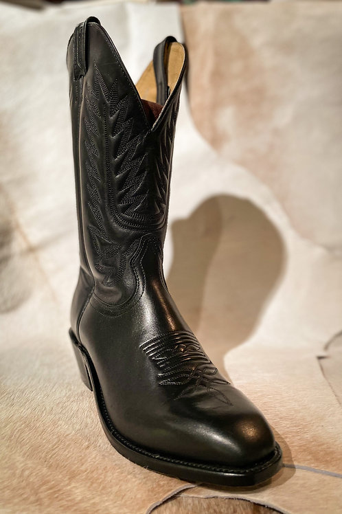 Boulet Men's Black Dress Boot -8063