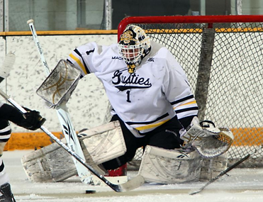 John McLean, Gusties, Reebok, Goalie Stick, Sizing