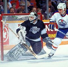 Robb Stauber, Los Angeles Kings, NHL, Christian, Edmonto Oilers, Goalie