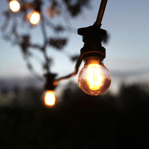 Lyskæde - klar LED