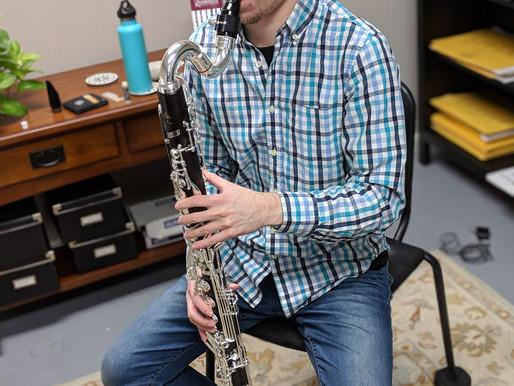 Bass clarinet!