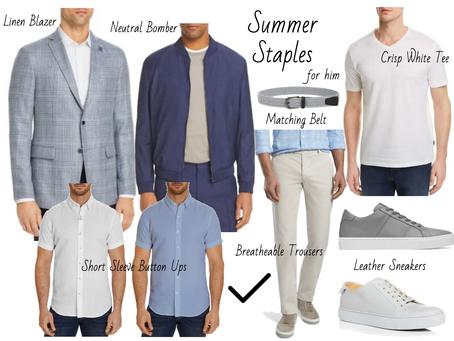 Summer Capsule Wardrobe for Men