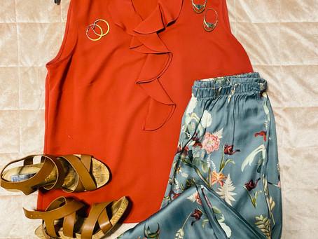 3 Ways to Dress Up a Silk Pant