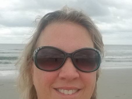 A Cloudy Day at the Beach ...