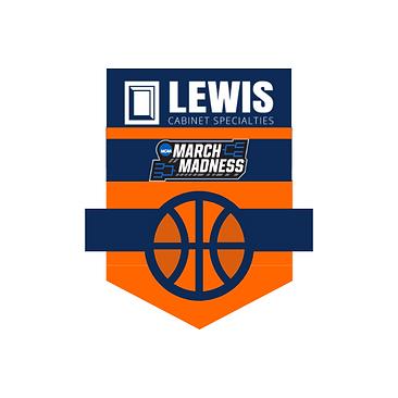 Blue and Orange Banner Basketball Logo.p