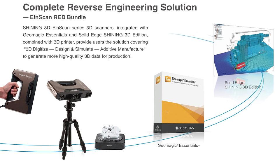 EinScan Pro HD RED Bundle