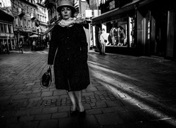 Lady with a bag