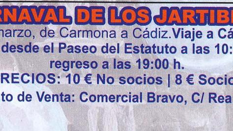 Actividades del Carnaval de Carmona 2019