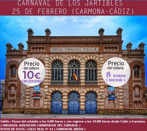 CARNAVAL DE LOS JARTIBLES 25 DE FEBRERO