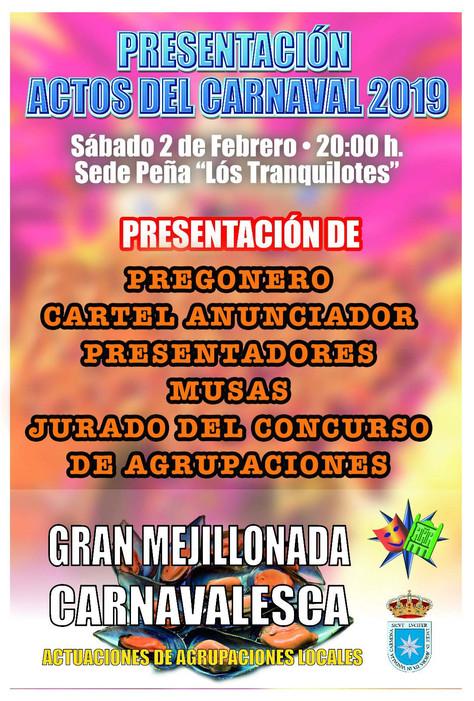 Presentación de los actos del Carnaval 2019.