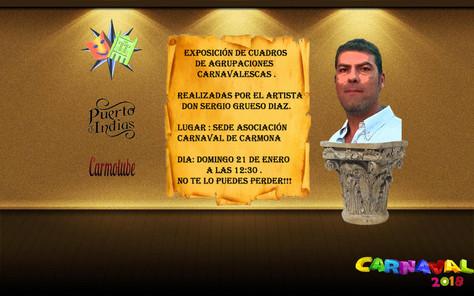 EXPOSICIÓN CUADROS CARNAVALESCOS