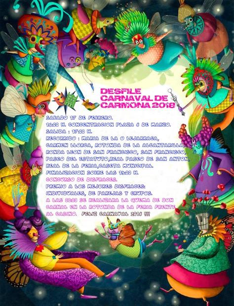 DESFILE CARNAVAL DE CARMONA 2018