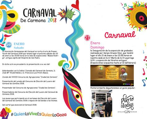 ACTOS : 20 Y 21 DE ENERO ( CARNAVAL DE CARMONA )