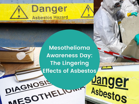 Saturday, September 26, is Mesothelioma Awareness Day!